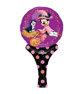 "12"" Aifill Only Inflate-A-Fun Minnie Witch Balloon"