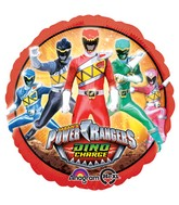 "18"" Power Rangers Dino Charge Balloon"
