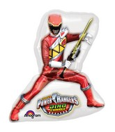"28"" See-Thru Power Rangers Dino Charge Balloon"
