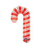 "37"" SuperShape Holiday Candy Cane Balloon"