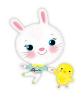 "29"" SuperShape Bunny & Chick Balloon"