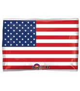 "24"" Junior Shape U.S. Flag Balloon"