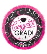 "32"" SuperShape Doo-Dads Sparkling Grad Balloon"