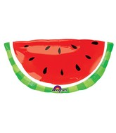 "32"" SuperShape Watermelon Balloon"