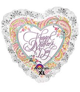 "28"" SuperShape Happy Mother&#39s Day Paisley"