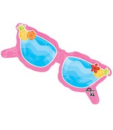 "37"" SuperShape Fun in the Sun Pink Glasses Balloon"