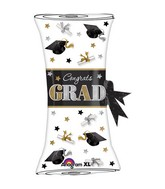 "31"" SuperShape Festive Grad Diploma Balloon"