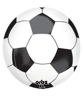 "16"" Orbz Soccer Ball Balloon Packaged"