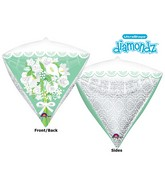 "17"" Ultrashape Diamondz For the Bride Floral Packaged"