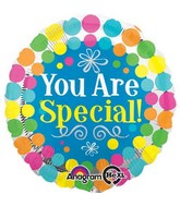 "18"" You Are Special Dots Balloon Packaged"