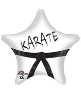 "18"" Karate Star Balloon"