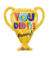"28"" SuperShape You Did It! Trophy Balloon"