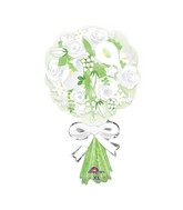 "30"" SuperShape Bouquet For the Bride Balloon"