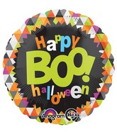 "18"" Boo Halloween Balloon Packaged"