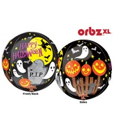 "16"" Orbz Spooky Scene Balloon Packaged"