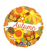 "18"" Autumn Inspired Balloon Packaged"