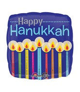 "18"" Hanukkah Candles Balloon"