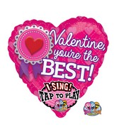 "29"" Singing Valentine, You&#39re the Best Packaged"