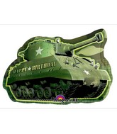 "26"" Jumbo Army Tank Birthday"