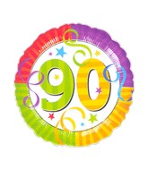 "18"" Perfection 90  Mylar Party Balloon"