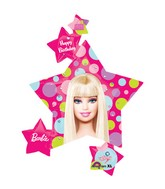 "36"" Barbie Pattern Birthday Connext"
