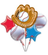 Bouquet Baseball Balloon Packaged