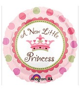 "18"" Little Princess Mylar Balloon"