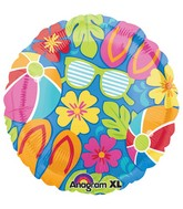 "18"" Summer Splash Balloon"