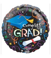 "18"" Grad Celebration Balloon"