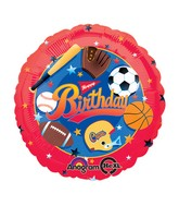 "18"" Little Champs Birthday Balloon Packaged"