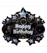"31"" Holographic Party Marquee Balloon"