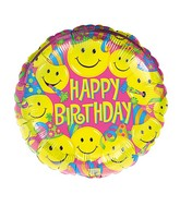"18"" Smiles Balloon Packaged"