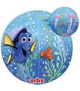 "16"" Jumbo Finding Dory Balloon Orbz Packaged"