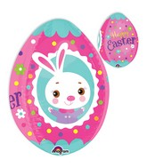 "19"" Pink Easter Egg Balloon"