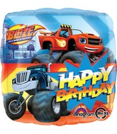 "18"" Blaze Happy Birthday Balloon"