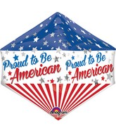 "21"" Anglez Jumbo Proud to Be American Packaged"