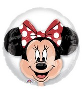 "24"" Minnie Mouse Balloon Insider Shape Packaged"