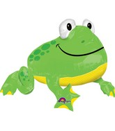 "29"" Jumbo Froggy Balloon Packaged"