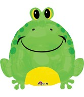 "18"" Happy Frog Balloon"
