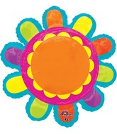 "29"" Jumbo Bright Flower Balloon"