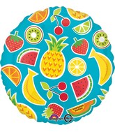 "18"" Tropical Fruit Balloon"