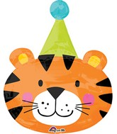 "31"" Jumbo Circus Tiger Balloon"