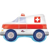 "33"" Jumbo Ambulance Balloon"