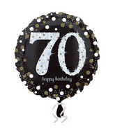 "18"" Sparkling Birthday 70 Balloon"