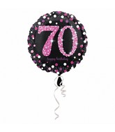 "18"" Pink Celebration 70 Balloon"