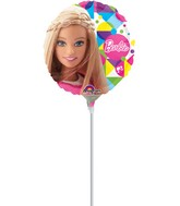 "9"" Airfill Only Barbie Sparkle Balloon"