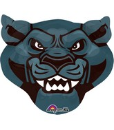 "24"" Jumbo Team Mascot Panthers Balloon"