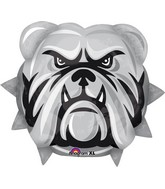 "21"" Jumbo Team Mascot Bulldogs Balloon"