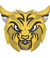 "24"" Jumbo Team Mascot Bobcats Balloon"