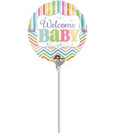 "9"" Airfill Only Baby Brights Balloon"